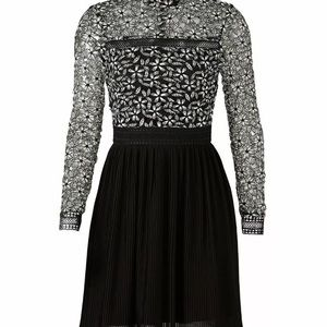 Alexia Admor Floral Lace Long Sleeve Sheath Dress